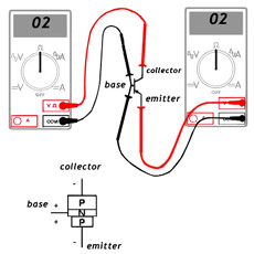 Testing Transistor With Multimeter